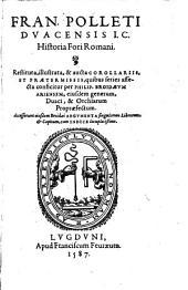 Historia Fori Romani