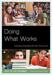 Doing What Works Book PDF