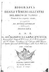 Biografia degli uomini illustri del regno di Napoli, ornata de loro rispettivi ritratti: Volume 11