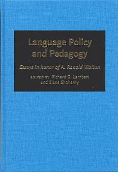Language Policy and Pedagogy PDF