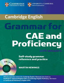Cambridge Grammar for CAE and Proficiency with Answers and Audio CDs  2  PDF