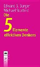Die 5 Elemente effektiven Denkens PDF