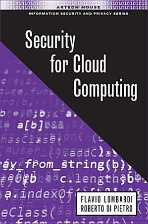 Security for Cloud Computing PDF