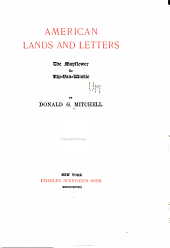 American Lands and Letters...