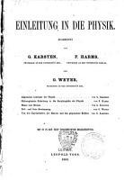 Allgemeine Encyklopadie der Physik PDF