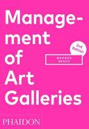 Management of Art Galleries PDF