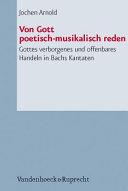 Von Gott poetisch musikalisch reden PDF