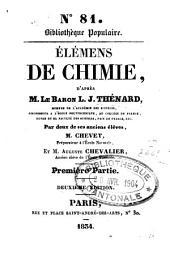 Elémens de chimie