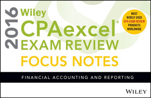 Wiley CPAexcel Exam Review 2016 Focus Notes PDF