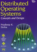 DISTRIBUTED OPERATING SYSTEMS PDF