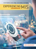 Experiencing MIS  Fifth Canadian Edition PDF