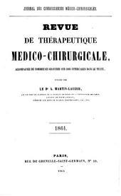 Revue de thérapeutique medico-chirurgicale: 1864