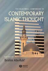 The Blackwell Companion to Contemporary Islamic Thought PDF