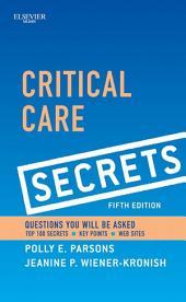 Critical Care Secrets E-Book: Edition 5
