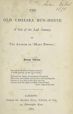 The Old Chelsea Bun-House
