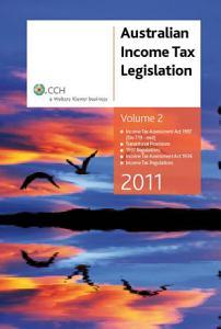 Australian Income Tax Legislation 2011  Income Tax Assessment Act 1997  div 719 1 end  Book