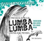 Menggambar Lumba-lumba dengan pensil