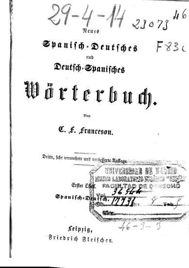 Nuevo diccionario de las lenguas espa  ola y alemana    PDF