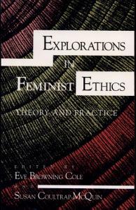 Explorations in Feminist Ethics PDF