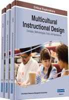 Multicultural Instructional Design  Concepts  Methodologies  Tools  and Applications PDF