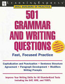 Download 501 Grammar and Writing Questions Book