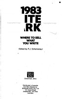 The Writer s Market PDF