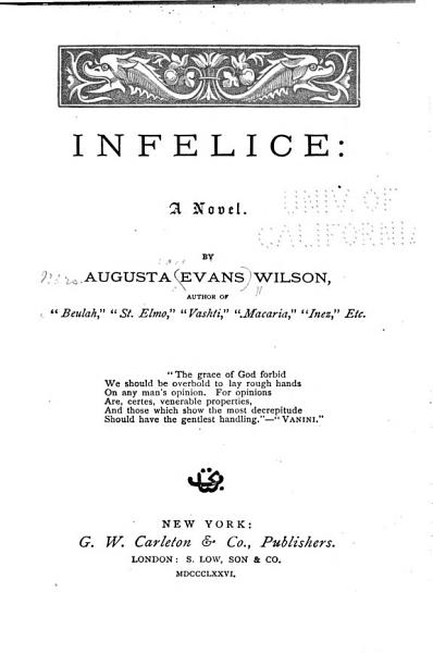 Download Infelice Book