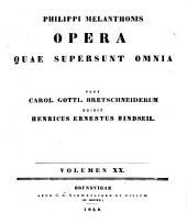Ph. Melanchtonis opéra