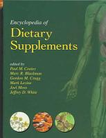 Encyclopedia of Dietary Supplements  Print  PDF