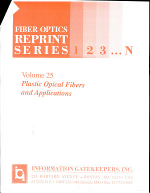 Plastic Optical Fibers and Applications PDF