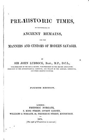 Prehistoric Times PDF
