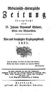 Medicinisch-chirurgische Zeitung: Band 34