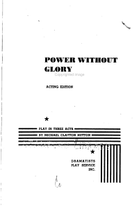 Power Without Glory PDF