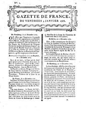 Gazette de France: journal politique. 1766