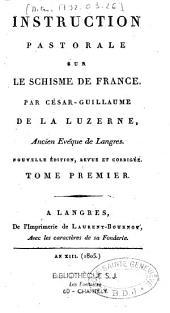 Instruction pastorale sur le schisme de France