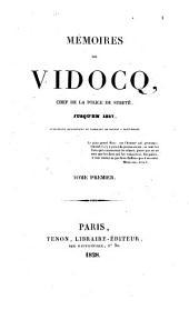 Memoires (rediges par Emile Morice et L. Fr. L'Heritier) (etc.): Volume1