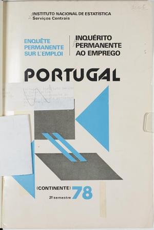 Enqu  te permanente sur l emploi  Portugal  continente PDF