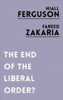 Download The End of the Liberal Order  Book