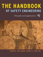 The Handbook of Safety Engineering PDF