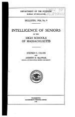 Intelligence of Seniors in the High Schools of Massachusetts