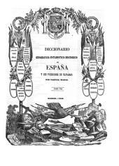 Diccionario geografico-estadistico-historico de España y sus posesiones de ultramar: FAB - GUA, Volumen 8