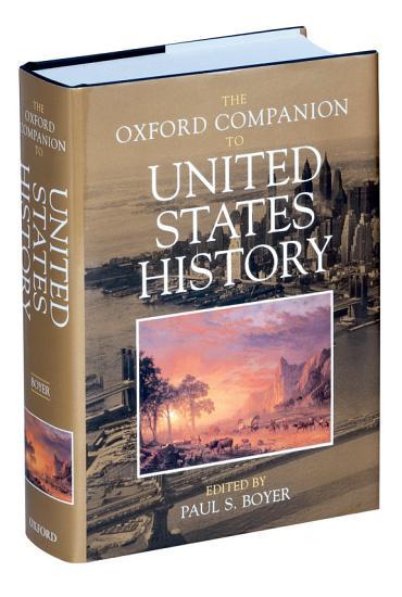 The Oxford Companion to United States History PDF