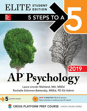 5 Steps to a 5  AP Psychology 2019 Elite Student Edition