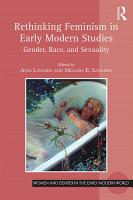 Rethinking Feminism in Early Modern Studies PDF
