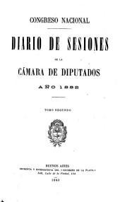 Diario de sesiones: Volumen 2