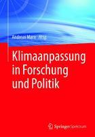 Klimaanpassung in Forschung und Politik PDF