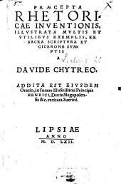 Praecepta Rhetoricae Inventionis