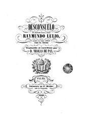 Desconsuelo del admirable doctor y mártir Raymundo Lulio escrito en verso lemosin por él mismo