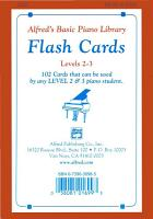 Alfred s Basic Piano Library  Flash Cards  Levels 2 and 3 PDF