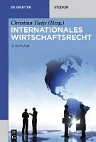 Internationales Wirtschaftsrecht PDF